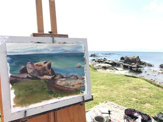 Paint Out 一色海岸