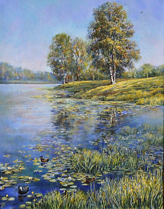 Quiet waters. Part 1. Summer by Leonid Polotsky