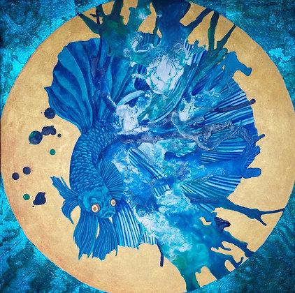 blue veil  - 橋本六久