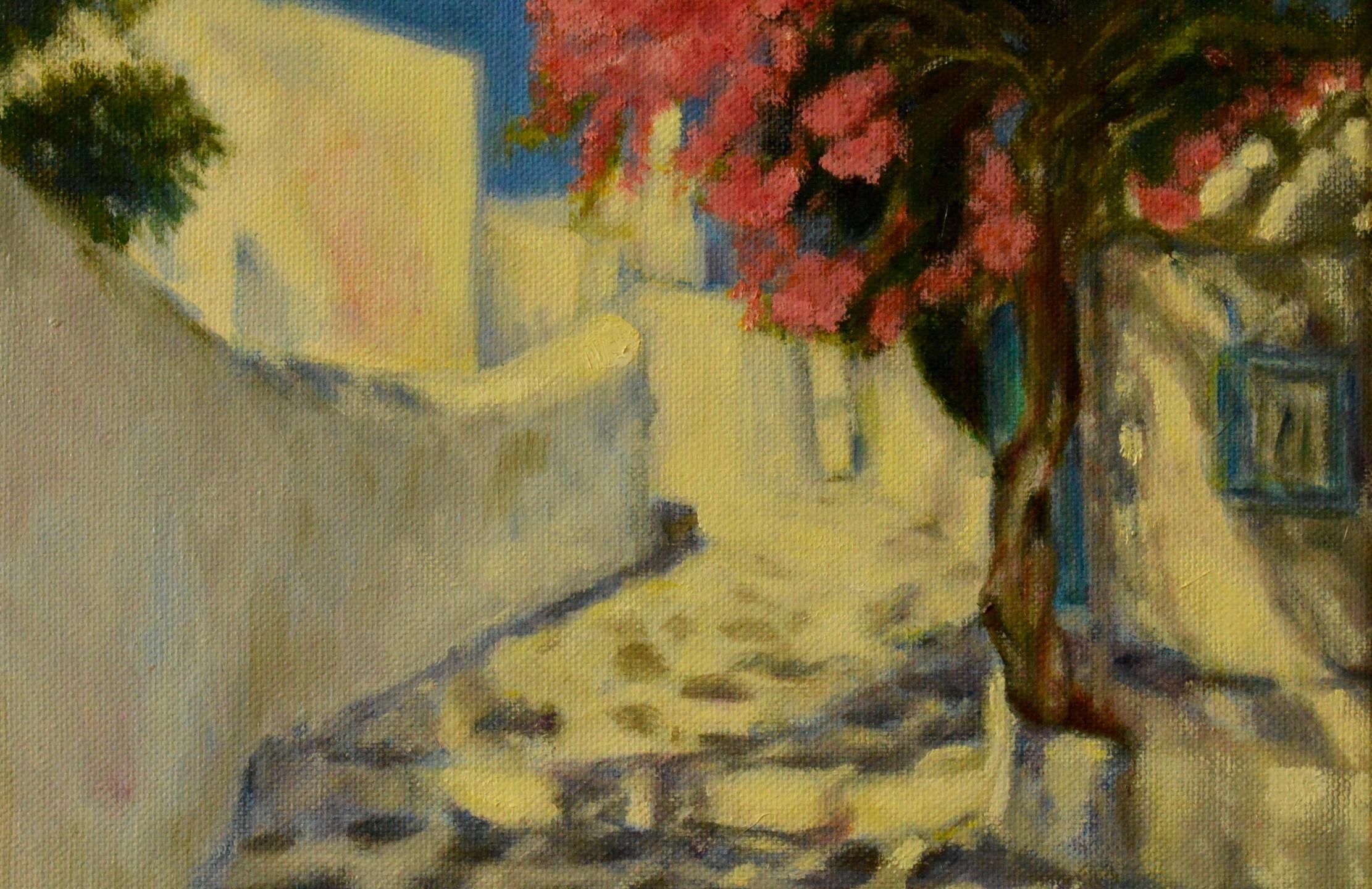 Sunlight through the alley
