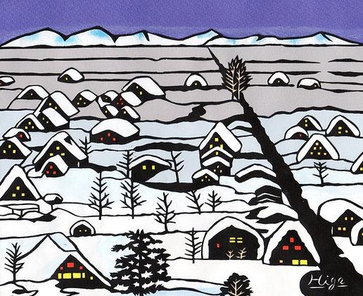 冬の白川郷 - 東山一勇気