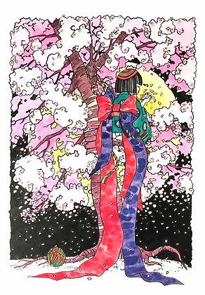 時雨童子朧月夜(しぐれどうじおぼろづきよ)森木愛琥