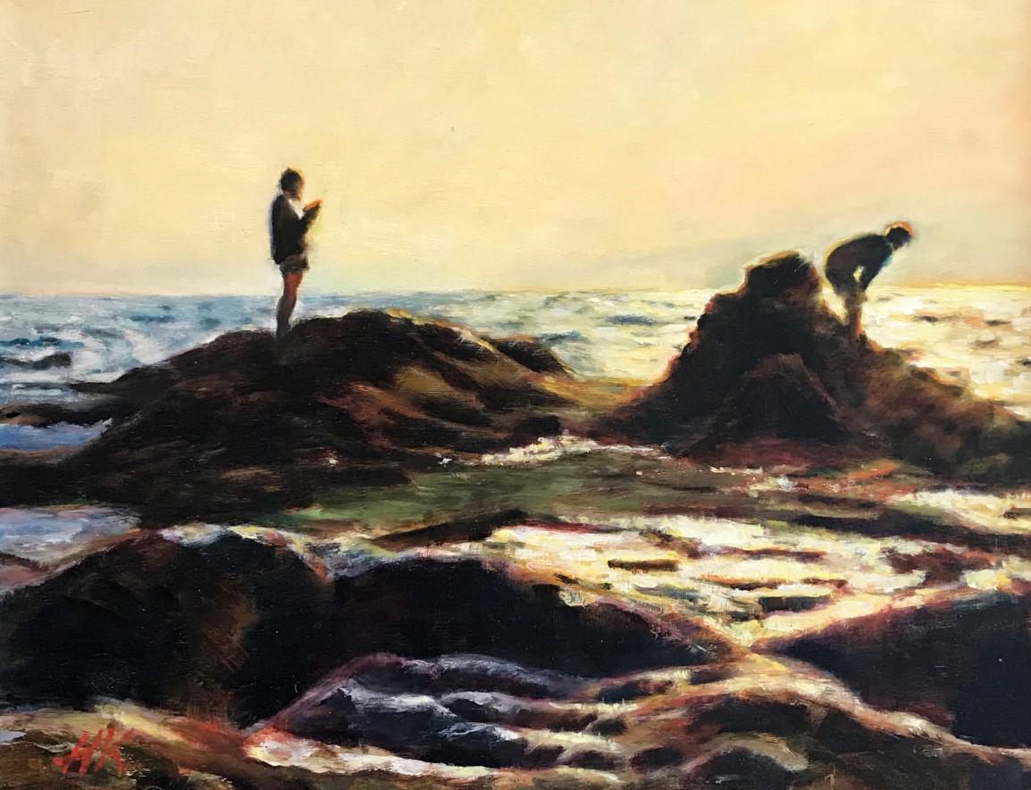 江の島岩屋サンセット