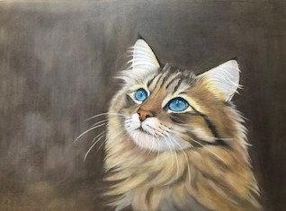青い瞳の猫 森下詔子