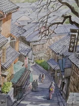 Kyoto in Japan -    杉本真喜子