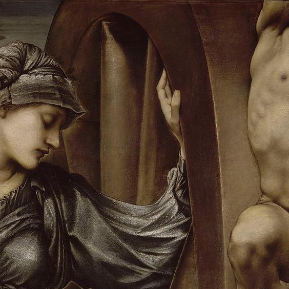 Le canon masculin dans l'art, des préraphaélites aux symbolistes.