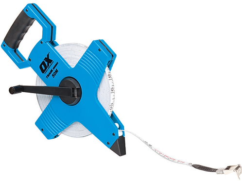 TRADE OPEN REEL TAPE MEASURE 100′