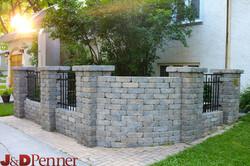 Retaining Wall Project by J&D Penner, Winnipeg