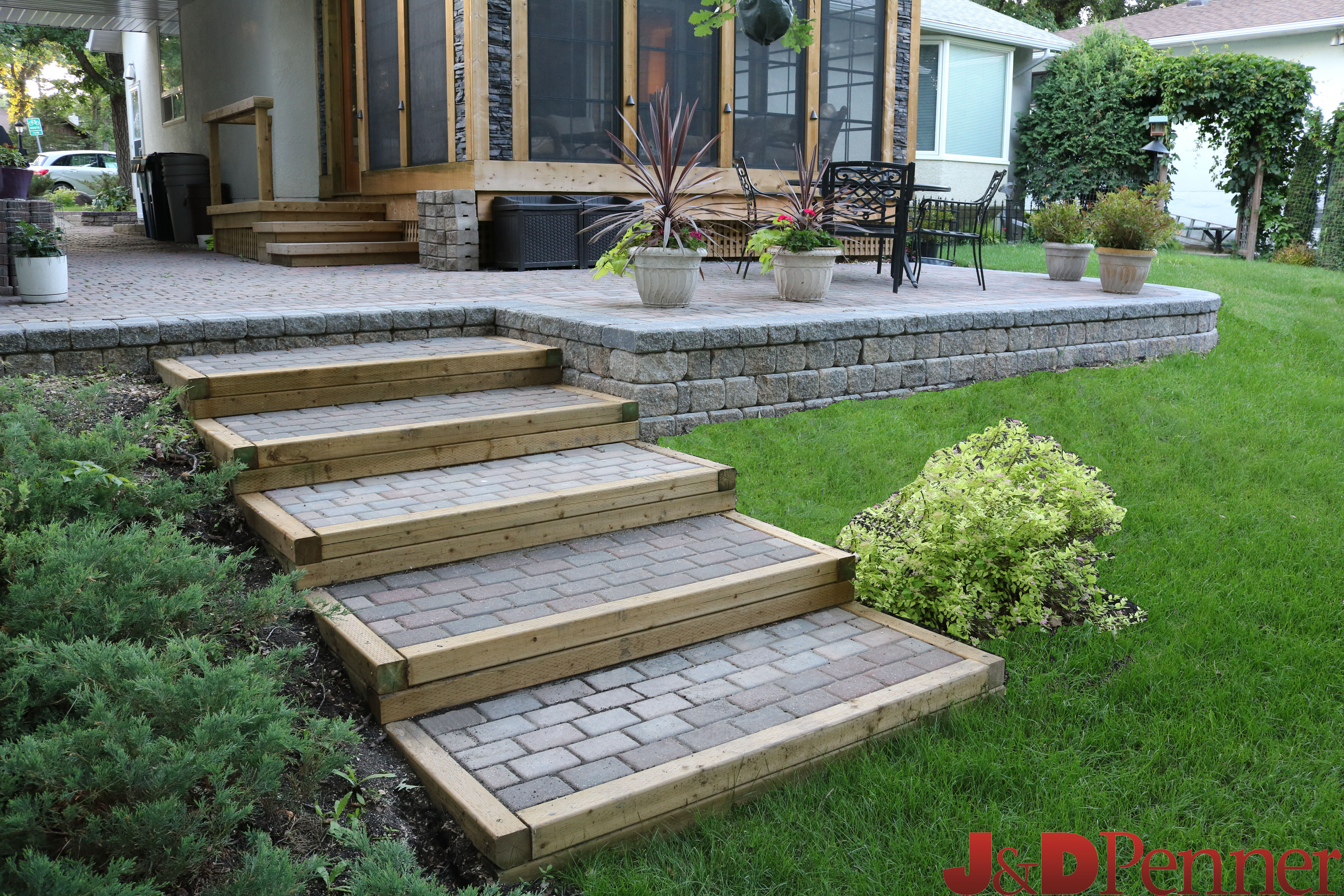 Stairs Project by J&D Penner, Winnipeg