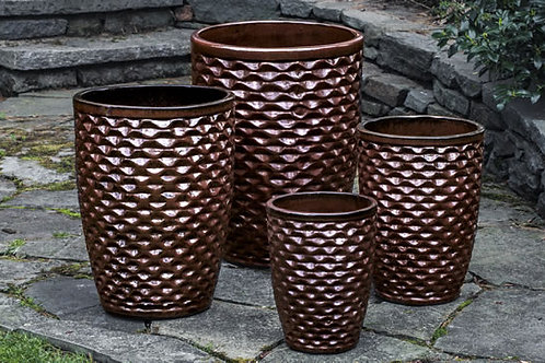 Tall Honeycomb Planter