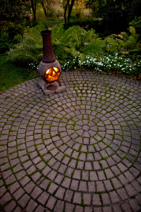 Beautiful Paving Stone Patio