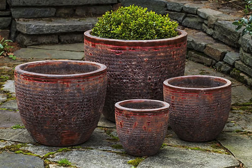 ASPARA PLANTER (ANGKOR RED)