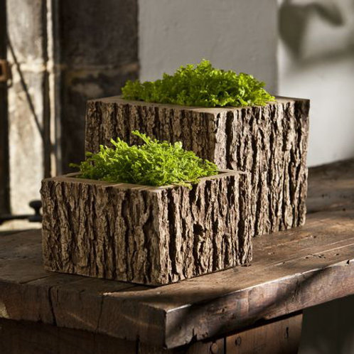 Mini Tall Reef Square Planter