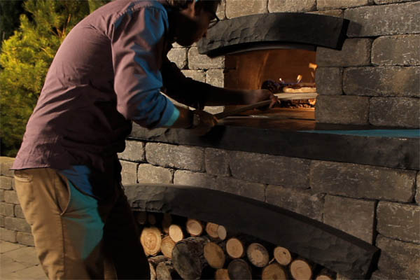 Stone Oasis Pizza Oven from Barkman