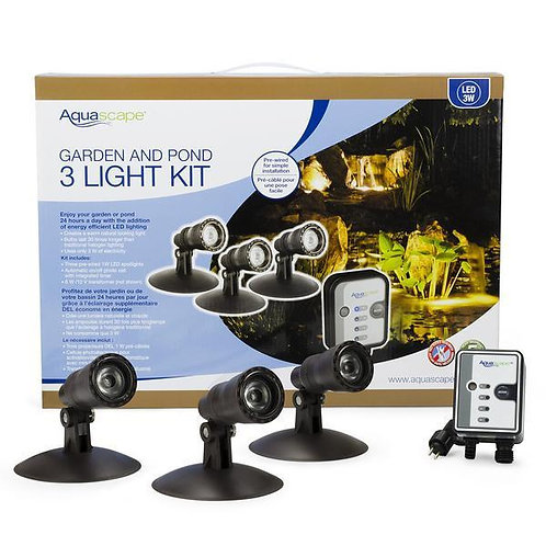GARDEN & POND 3 LIGHT KIT