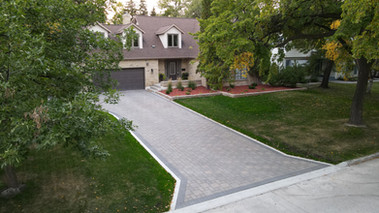 Driveway Designed and Constructed by J&D Penner, Winnipeg