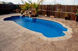 Poolside Retreat with Paving Stone P