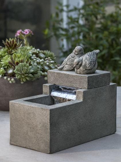 Mini Element W/ Birds Fountain