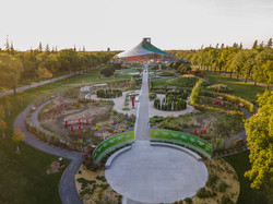 Assiniboine park garden Winnipeg