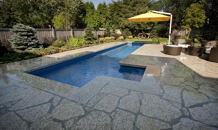 Modern Pool Deck