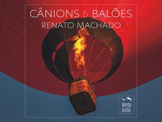 Lançamento livro Cânions e Balões
