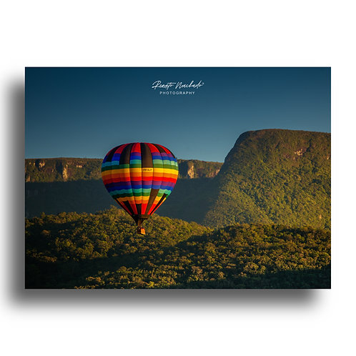 Impressão Fine Art ( Cód. IMG9999 ) Balão no Cânion