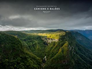 Renato Machado inicia novo projeto fotográfico de Cânions e Balões no Sul do país ( Release 03/08/20