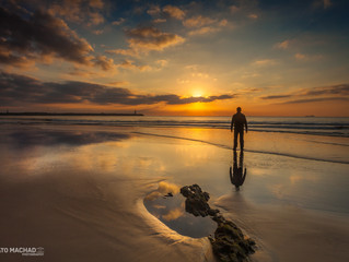 Nascer do sol na Praia da Atalaia - Itajaí/SC
