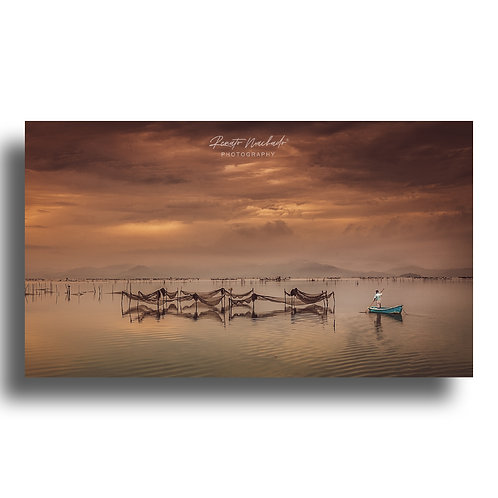 Impressão Fine Art ( COD.: IMG_5472 ) - Pescador