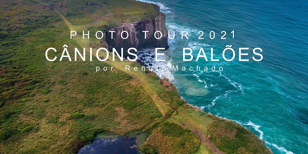 CANIONS E BALOES PHOTOTOUR - Julho / 2021