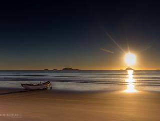 Amanhecer na praia de Ubatuba / São Francisco do Sul / SC