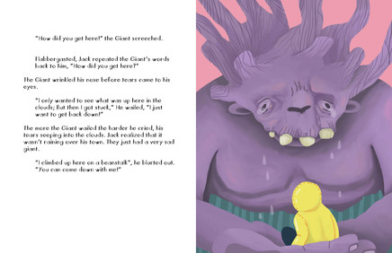 Jack and The Beanstalk Spread 4