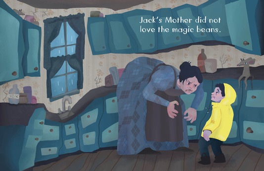 Jack and The Beanstalk Spread 3