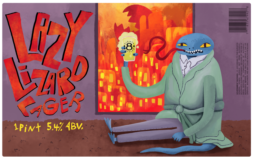 Lazy Lizard Lager
