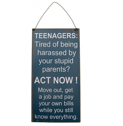 Teenagers....
