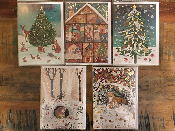 Advent Greeting Card