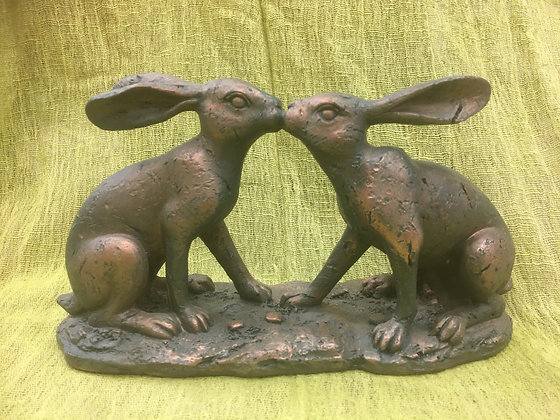 Kissing Hares