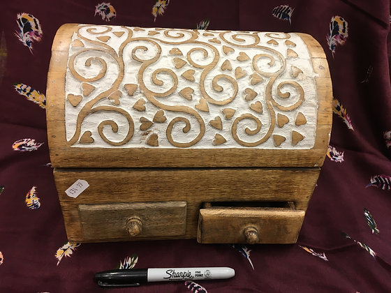 Vine leaf Jewellery box