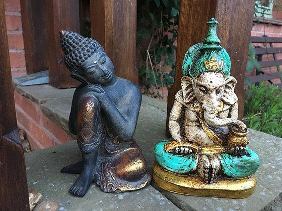 Ganesh n buddha