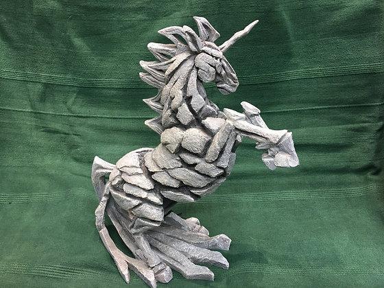 Edge Unicorn Sculpture