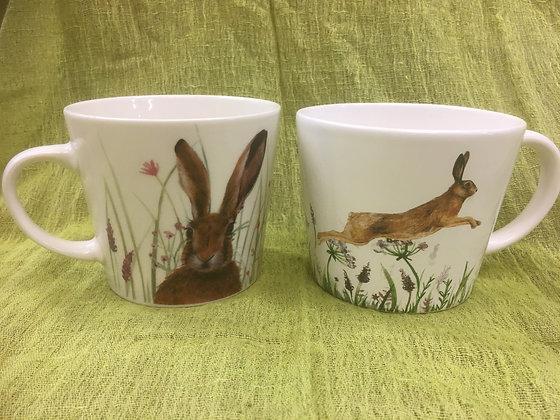 Hare Mugs