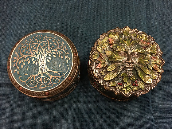 Tree of life & Green man box