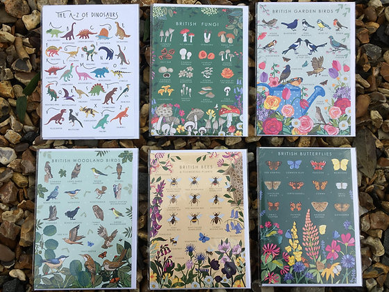 British Nature Cards