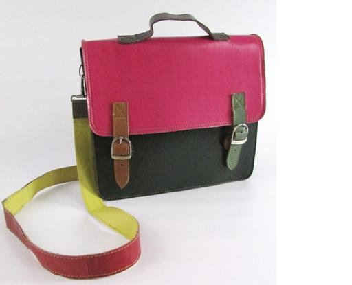 Fair trade Gringo Leather Satchel