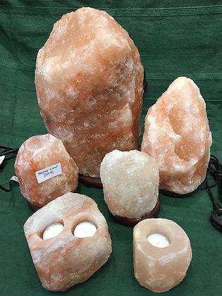Salt Rock Lamps
