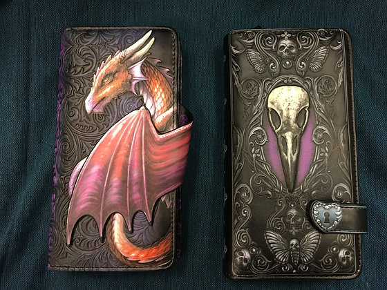 Dragon & Edgar's Raven Purse.