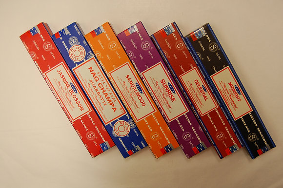 Pack of 6  Assorted incense.