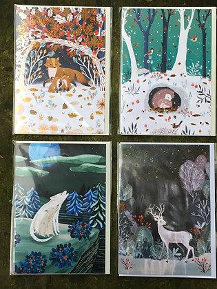 Roger La Borde Yulu Cards
