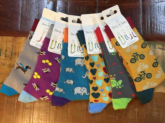 Size 3-7 Bamboo socks