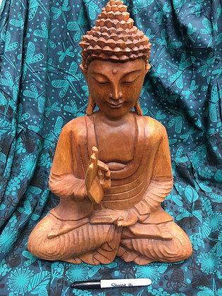 Wooden Buddha